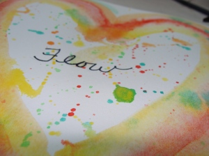 """Flow"" Original artwork by Lesley Glenn"