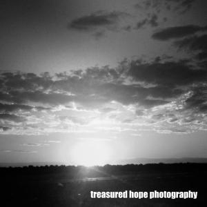 Sunrise BW
