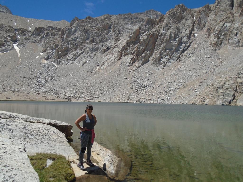 Me at Meysan Lake - 11,445