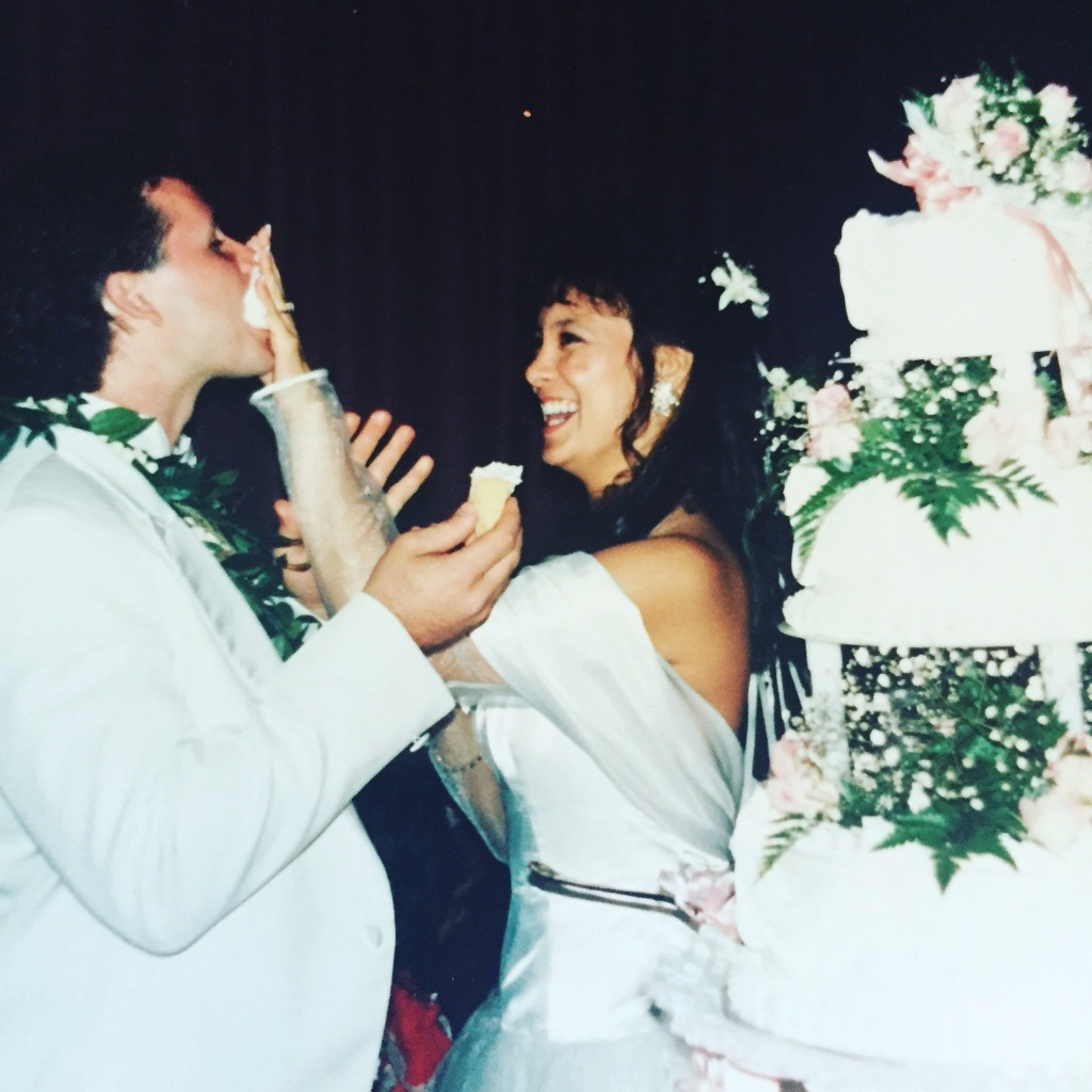 Our wedding - September 11, 1991 at the Honolulu County Club